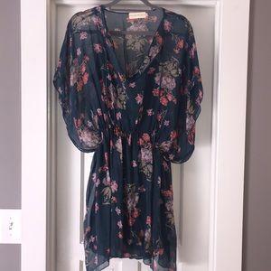 Johnny Was/4 Love & Liberty Kimono Sleeve Dress
